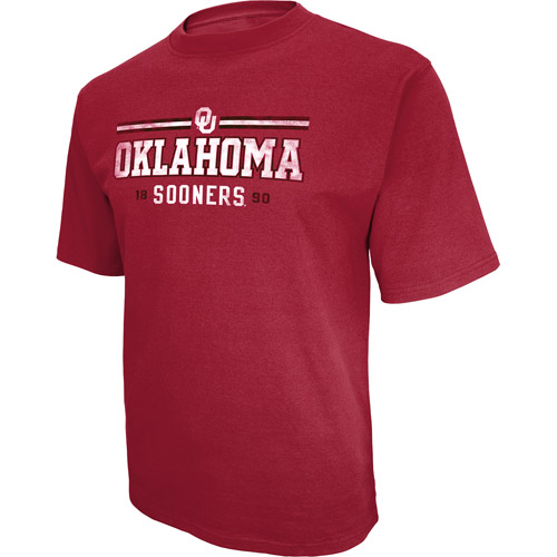 NCAA Big Men's Oklahoma Short Sleeve Tee