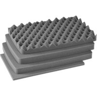 Pelican Case 1600 1601 Replacement Foam Inserts Set (4 Pieces)