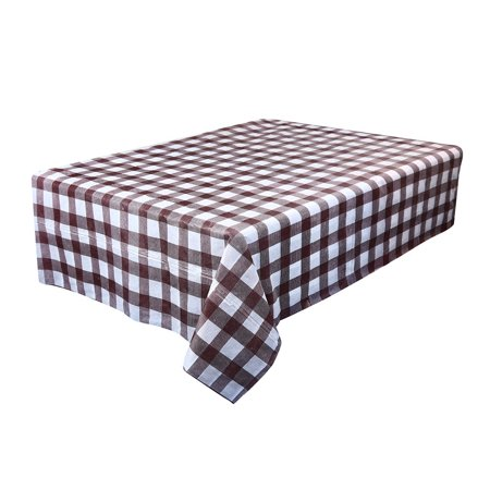 Outtop Waterproof Plastic Tablecovers Table Cloth Cover Party Catering Events Tableware