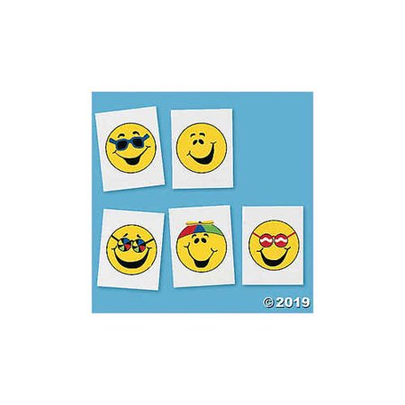 Goofy Smile Face Tattoos - Goofy Face