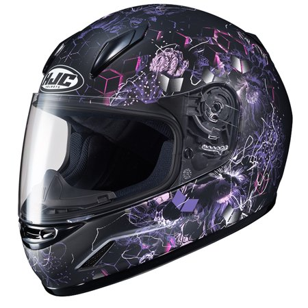 HJC CL-Y Vela Youth Motorcycle Helmet Purple