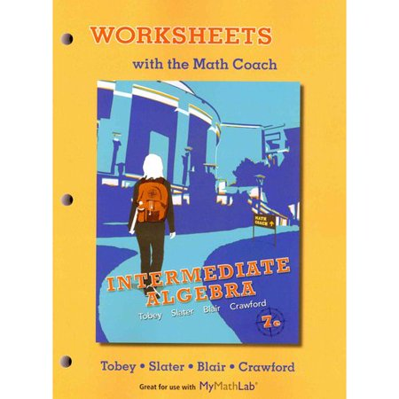 worksheets with the math coach intermediate algebra. Black Bedroom Furniture Sets. Home Design Ideas
