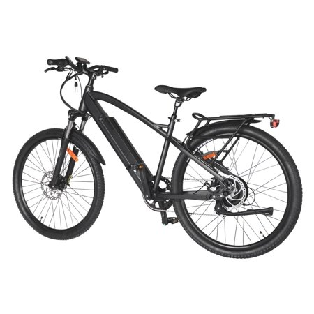 "T4B Enduro Hard Tail City and All Terrain Bike - Bafang 350W Brushless Electric Motor, 8 Speed, Samsung Li-Ion Battery 36V13Ah, 27.5"" Tires - Black - image 2 de 12"