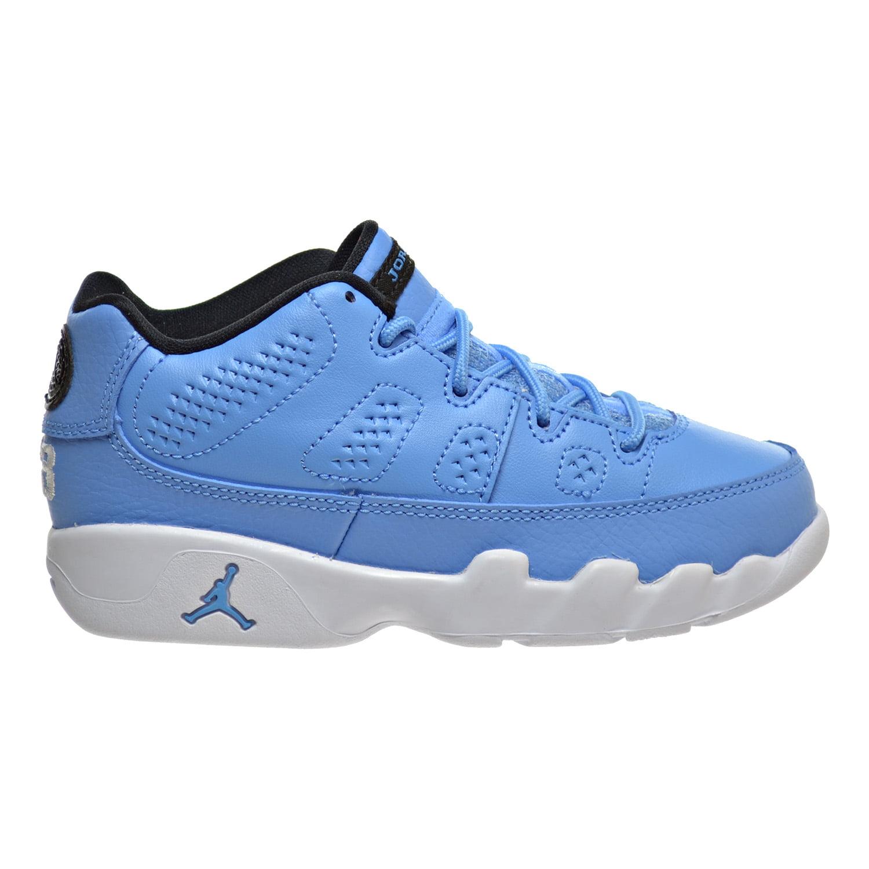 185de673daa0cd ... ebay jordan 9 retro low bp little kids shoes university blue white  black 833905 ad7b0 7b0a0