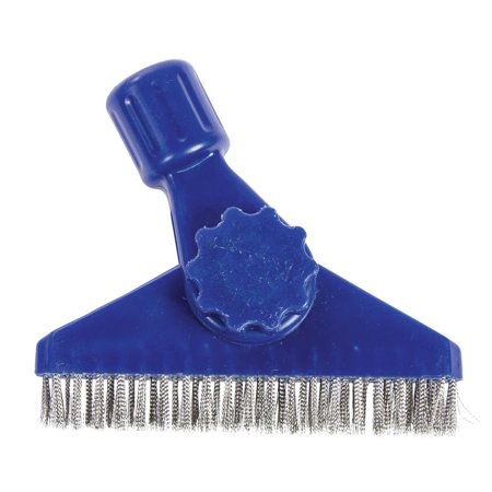 Stainless steel grout brush easily remove paint oils and for Remove paint from stainless steel