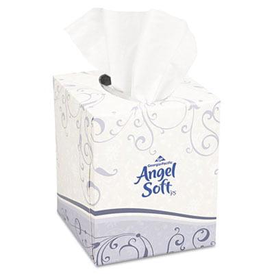 Premium Facial Tissue In Cube Box GPC46580