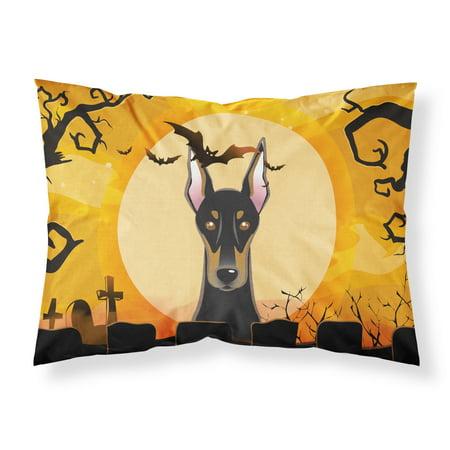 Halloween Doberman Fabric Standard Pillowcase BB1803PILLOWCASE