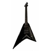 BadAax Rhoades V cut Electric Guitar - Black