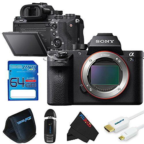 Sony Alpha a7S II Mirrorless Digital Camera (Body Only) + 64GB Pixi-Basic Accessory Bundle