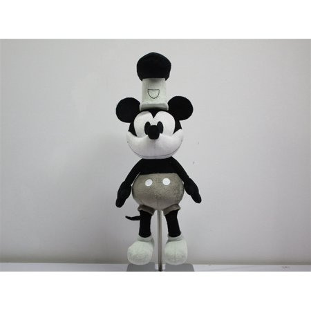 Disney Mickey Mouse Steamboat Willie Plush 11 Inch Steamboat Willie Mickey