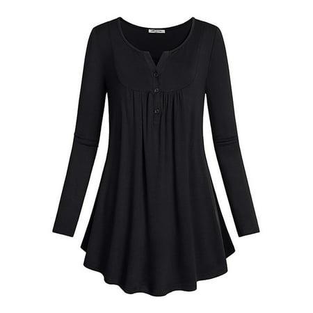 37efbb2e390 Topcobe - Topcobe Long Sleeve Tunic Tops for Women