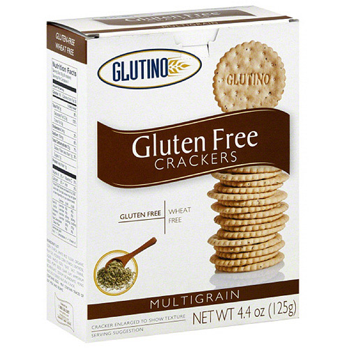 Glutino Multigrain Crackers, 4.4 oz, (Pack of 6)