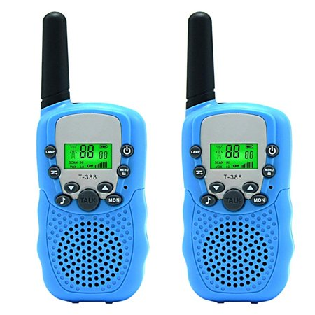 Baofeng Up to 5 Miles Walkie Talkies for Kids 22 Channels FRS/GMRS 2 Pack
