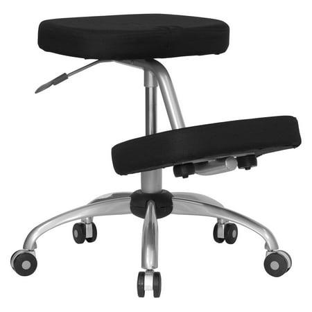 Ergonomic Kneeling Posture Office Chair, Black
