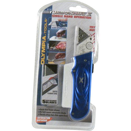 Olympia Tool 33-134 Blue X-Knife