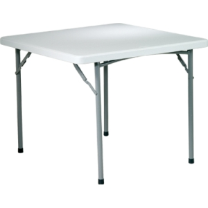 "Office Star 36"" Square Resin Table by Office Star Products"