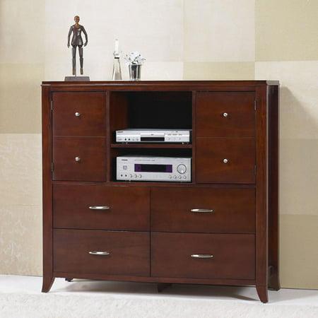 Modus Furniture International Brighton Cinnamon Media Chest for TVs up to 55″