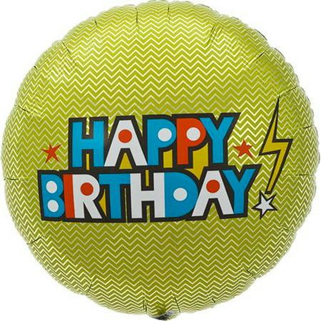Northstar Happy Birthday Lightning Bolt 18