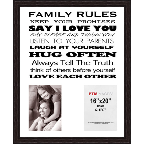 Family Rules II Picture Frame