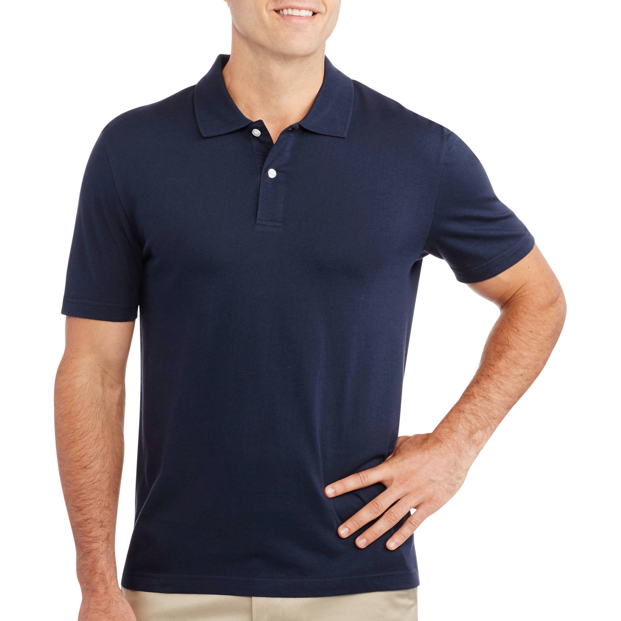 Faded Glory Big Men's Short Sleeve Polo