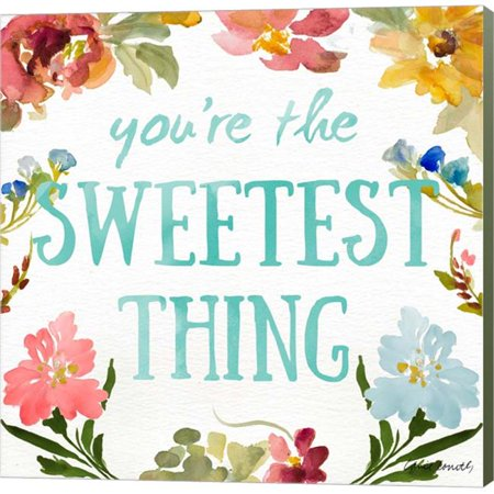 Metaverse C910848-0120000-YCEAAMA Sweetest To Be I by Lanie Loreth Canvas Wall Art - 12 x 12 in. - image 1 de 1