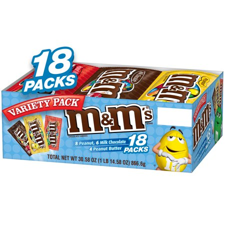 M&M's Chocolate Candy Variety Pack,18 - M&s Halloween Food