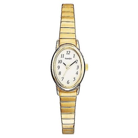 Timex Women's Cavatina Watch, Gold-Tone Stainless Steel Expansion Band