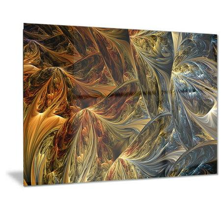 Molten Metal Protection (DESIGN ART Designart 'Molten Gold Abstract' Metal Wall Art )