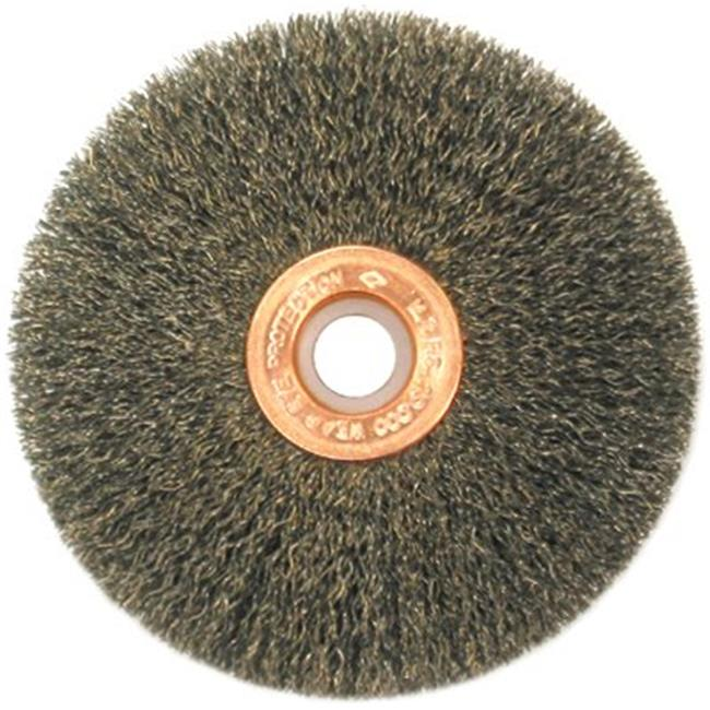 Anderson Brush 066-08733 Ss20 2 in. .0118 Crimped Wire Wheel Brush   with 1-