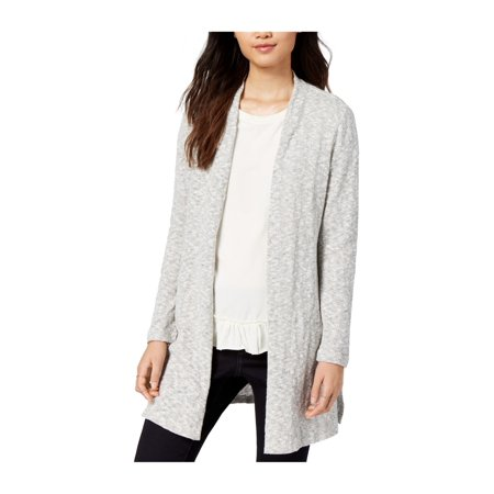 maison Jules Womens Marled Cardigan Sweater ()