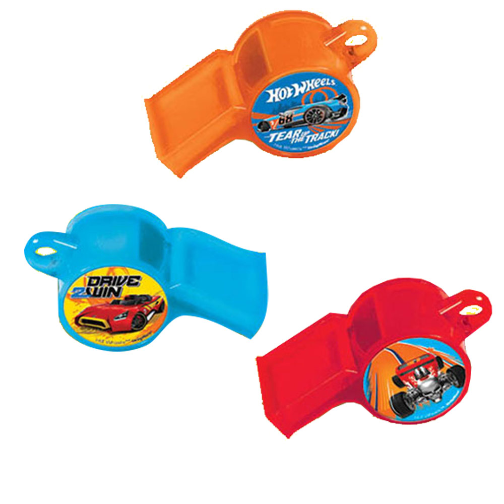 Hot Wheels Wild Racer Whistle Favors (12 Count) - Party Supplies