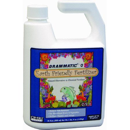 Drammatic o organic fish liquid plant food for Liquid fish fertilizer