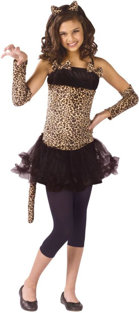 Morris Costumes Childrens Girls Animals & Insects Cat Costume 8-10, Style FW110702MD by Morris Costumes