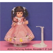 Metal Doll Stand For Dolls 6.5 To 11 Inches Tall (fits around dolls waist line)