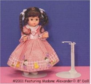 Metal Doll Stand For Dolls 6.5 To 11 Inches