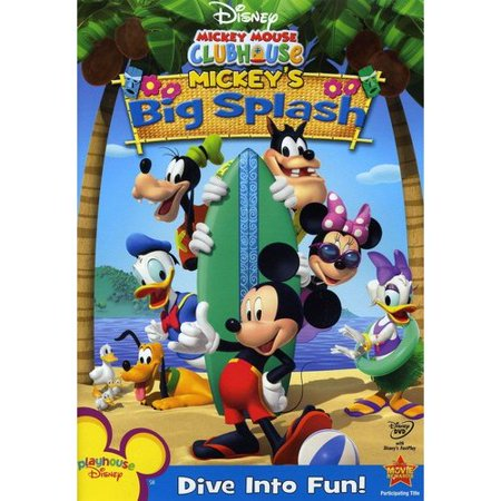 Mickey Mouse Clubhouse  Mickeys Big Splash  Full Frame