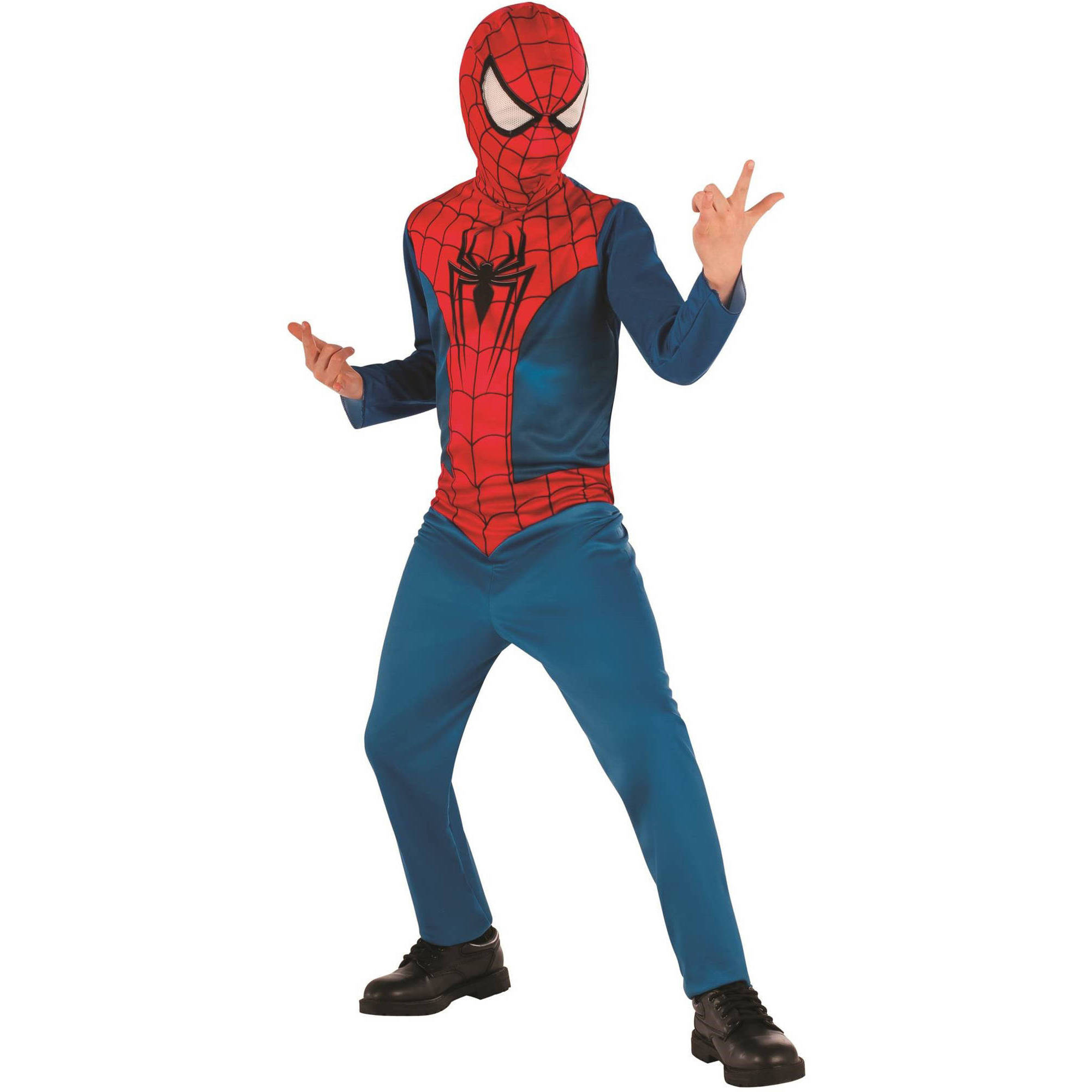 Spiderman Child Jumpsuit Halloween Costume by