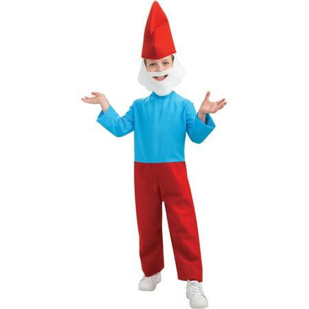 Boys The Smurfs Movie Papa Smurf Costume (Papa Smurf Costumes)