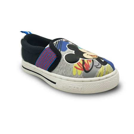 Mickey Mouse Toddler Boys' Slip-on Sneaker