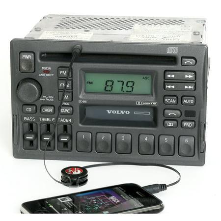 Polar Cs Series (Volvo 40 70 90 Series 1997-04 Radio AM FM CD CS Aux Input 3533771-1 Face SC-816 - Refurbished)