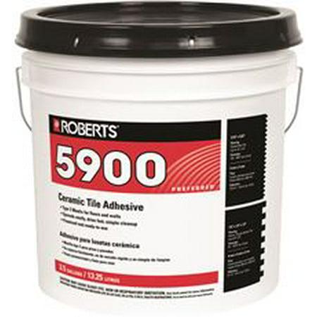 Roberts Ceramic Tile Adhesive 3 5 Gal