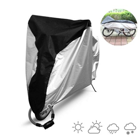 EEEKit Waterproof 210T Nylon + PU Bicycle Cycle Bike Cover Outdoor Portable Rain Dust Protector