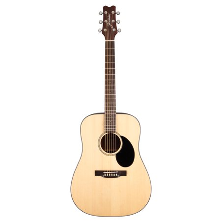 Jasmine JD36 Dreadnought Acoustic Guitar Gloss Natural (Jasmine By Takamine Es31c Acoustic Electric Guitar Review)