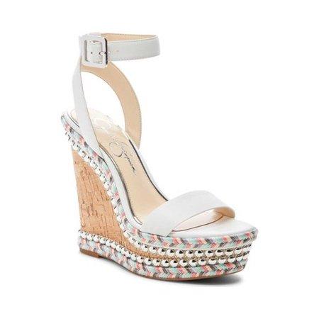 Women's Jessica Simpson Alinda Embellished Wedge Sandal