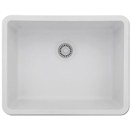 Exceptionnel LEXICON Platinum Medium Single Bowl Quartz Composite Kitchen Sink