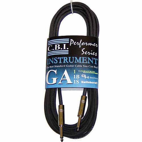 CBI 10' Guitar Instrument Cable