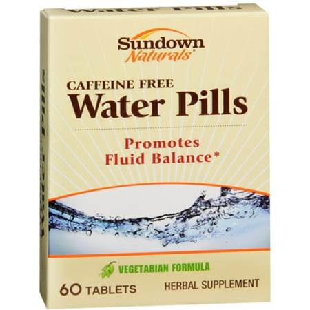 2 Pack - Sundown Naturals Natural Water Pills 60