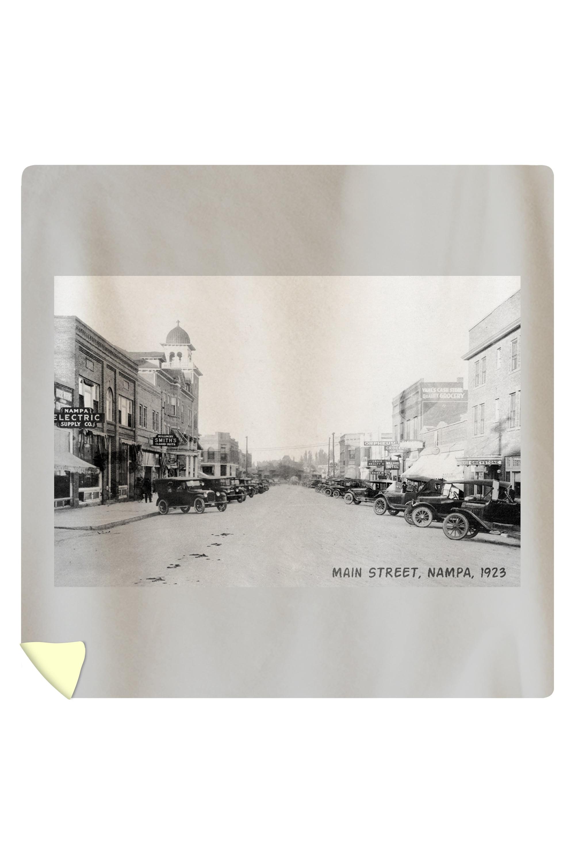 Nampa, Idaho - View of Main Street - Vintage Photograph ...