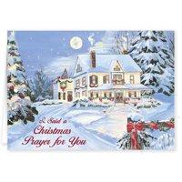 Personalized I Said A Christmas Prayer Card Set of 20