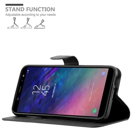 Cadorabo Case for Samsung Galaxy A6 2018 cover - Book Case with Magnetic Closure, Stand Function, and Card Slot - image 3 of 5